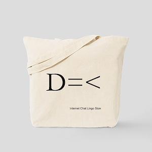 D=< Tote Bag