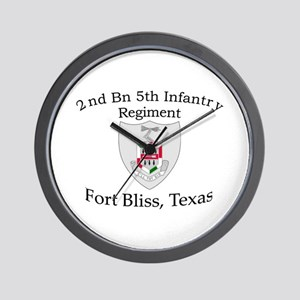 2nd Bn 5th Infantry Wall Clock