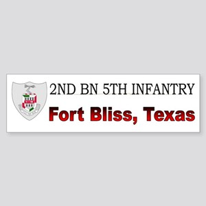 2nd Bn 5th Infantry Sticker (Bumper)