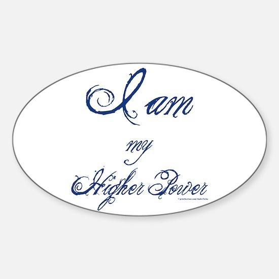 My Higher Power Sticker (Oval)