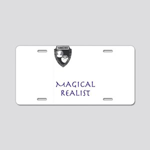 Magical Realist Aluminum License Plate