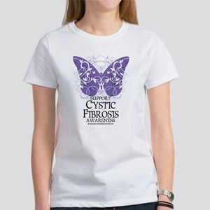 Cystic-Fibrosis Butterfly 3 Women's T-Shirt
