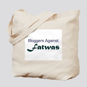 Bloggers Against Fatwas Tote Bag