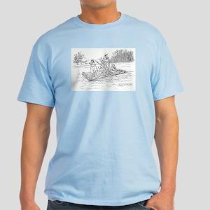 Girls on a Raft Light T-Shirt