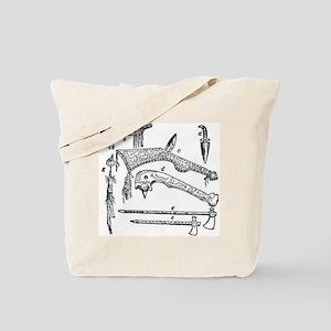 Native American Weapons Tote Bag