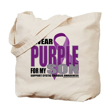 Cystic Fibrosis Purple For My Tote Bag
