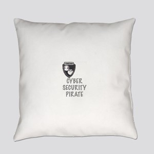 Cyber Security Pirate Everyday Pillow
