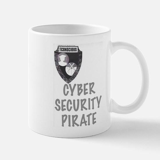Cyber Security Pirate Mugs