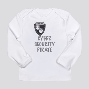 Cyber Security Pirate Long Sleeve T-Shirt