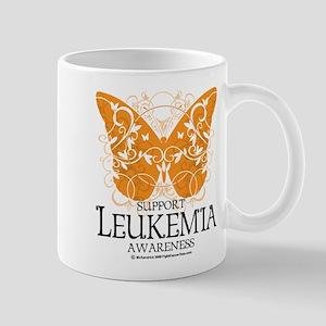 Leukemia Butterfly 3 Mug
