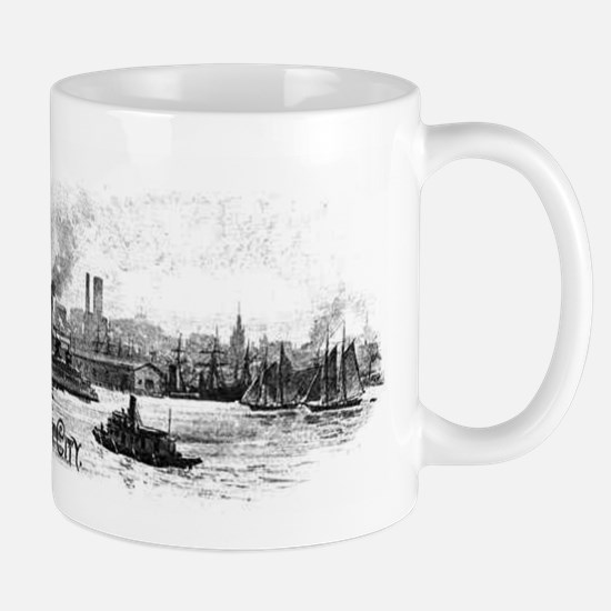 "NYC- ""the great city"" Mug"