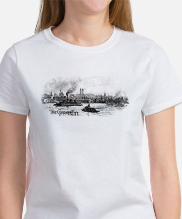 """NYC- """"the great city"""" Women's T-Shirt"""