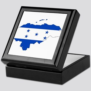 Honduras Flag Keepsake Box