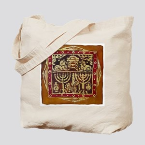 Old Jewish Symbols Tote Bag