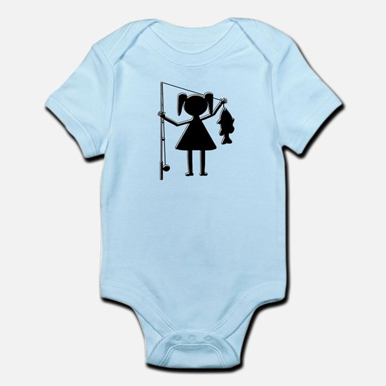 REEL GIRL Infant Bodysuit