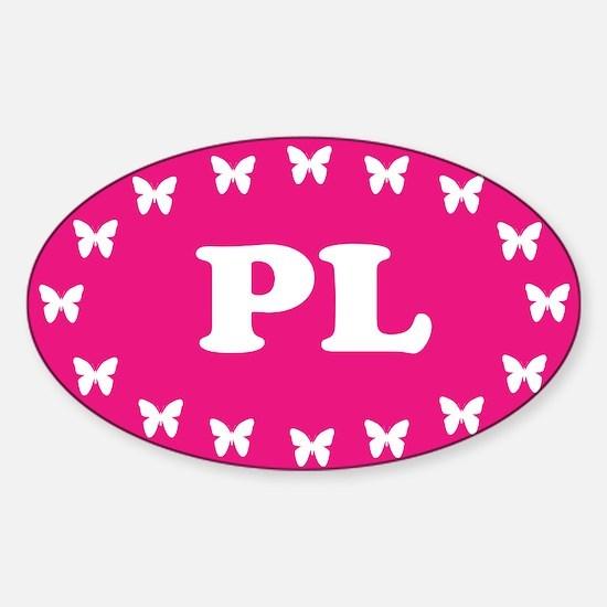Unique Polska eu Sticker (Oval)