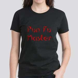 Pun Fu Master Women's Dark T-Shirt