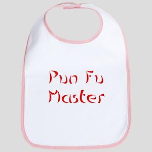 Pun Fu Master Bib