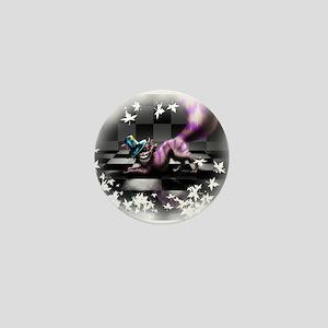 Cheshire Cat Mini Button