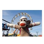 Ernie the Sock Monkey Postcards (Package of 8)