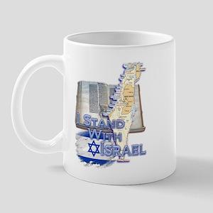 I Stand With Israel - Mug