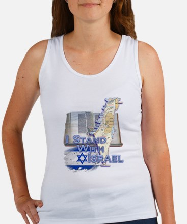 I Stand With Israel - Women's Tank Top