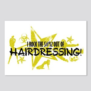 I ROCK THE S#%! - HAIRDRESSING Postcards (Package