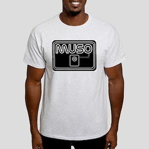 MUSO Ash Grey T-Shirt