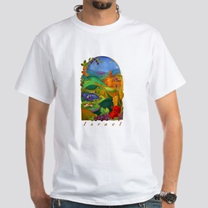 Land Of Israel White T-Shirt