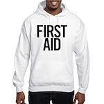 First Aid (black) Hooded Sweatshirt
