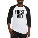 First Aid (black) Baseball Jersey