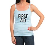 First Aid (black) Jr. Spaghetti Tank