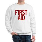 First Aid (red) Sweatshirt