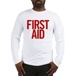 First Aid (red) Long Sleeve T-Shirt