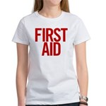 First Aid (red) Women's T-Shirt