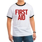First Aid (red) Ringer T
