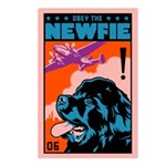 Obey the NEWFIE! Postcards (Pack of 8)