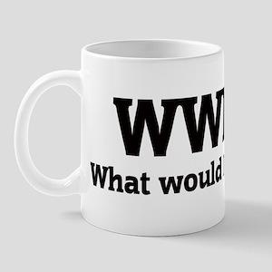 What would Patrick do? Mug