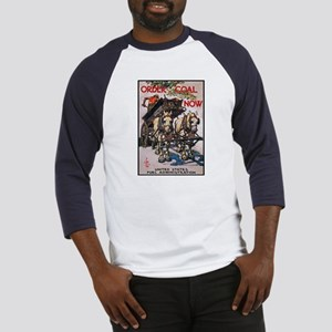 Order Coal Now (Front) Baseball Jersey