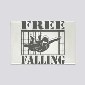FREE FALLING! Rectangle Magnet