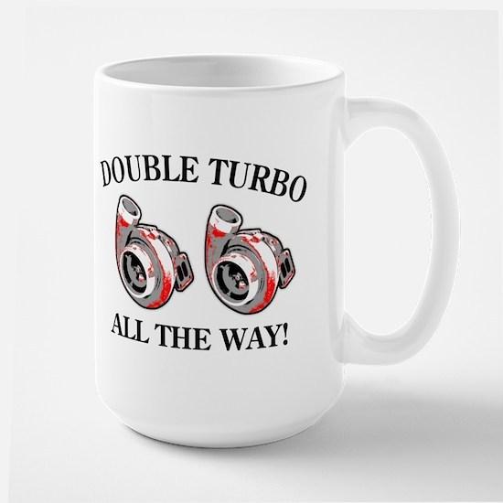 Double Turbo Large Mug
