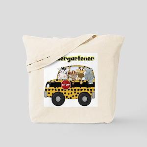 Zoo Animals Kindergarten Tote Bag