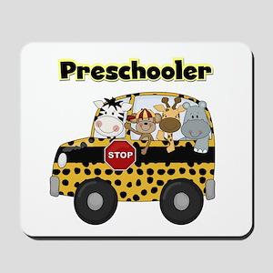 Zoo Animals Preschool Mousepad