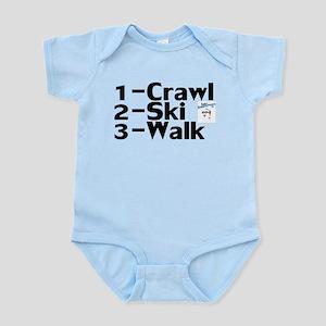 Baby Skier Infant Bodysuit