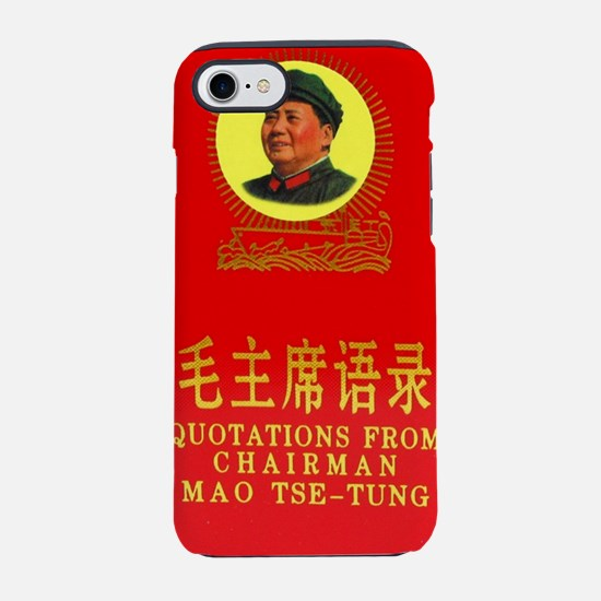 Chairman Mao's Little Red  iPhone 7 Tough Case