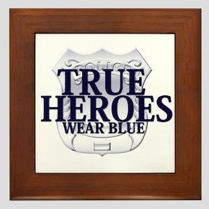 Police: True Heroes Framed Tile