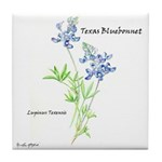 Texas Bluebonnet Tile Coaster