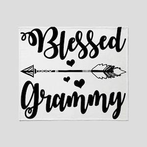Blessed Grammy Throw Blanket