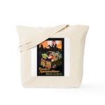 Food is Ammunition Poster Art Tote Bag