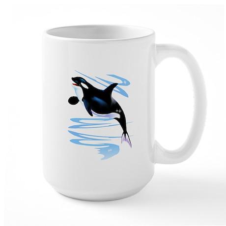 Orca Splash Large Mug